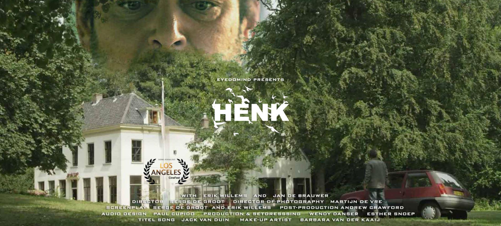 Mijn korte film 'Henk'